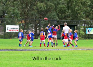 Will in the ruck